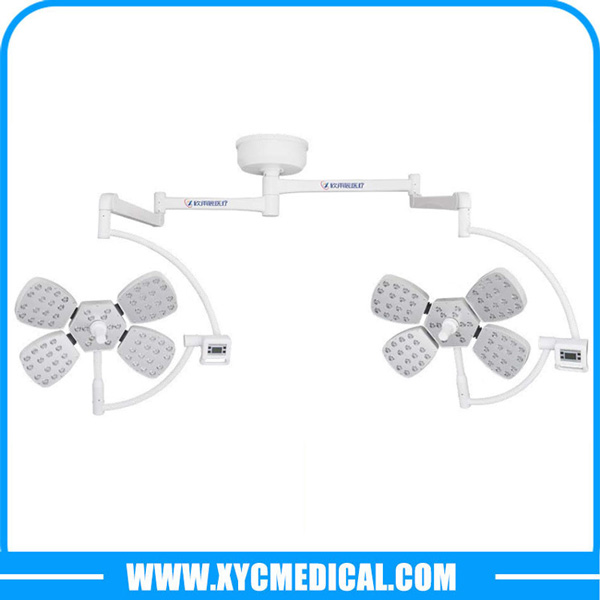 YCLED5+5 Ceiling Mounted Double Heads LED Surgical Light